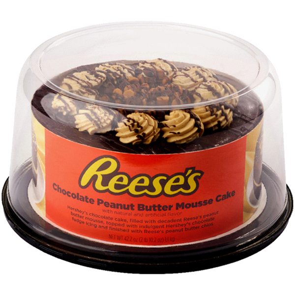 Reeses Chocolate Peanut Butter Mousse Cake 42 2 Oz