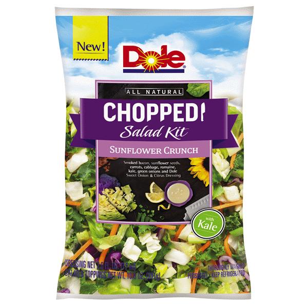 Dole Chopped Sunflower Crunch Salad Kit Bag 13 6 Oz