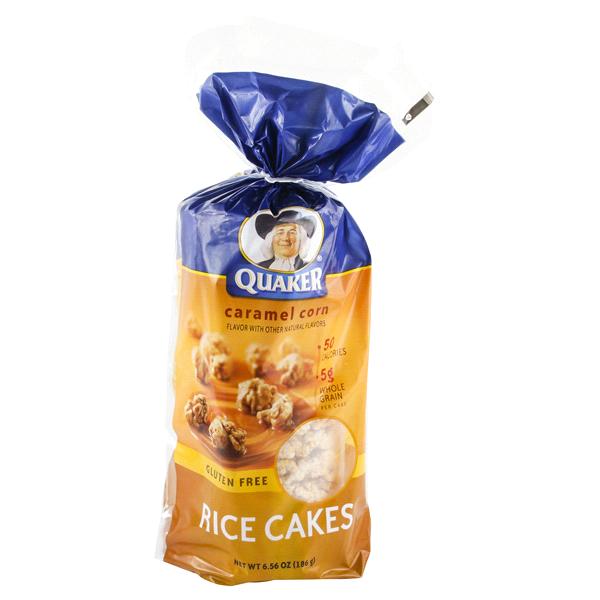 003000016910 UPC Quaker Rice Cakes, Caramel Corn Quaker Rice Cakes Caramel
