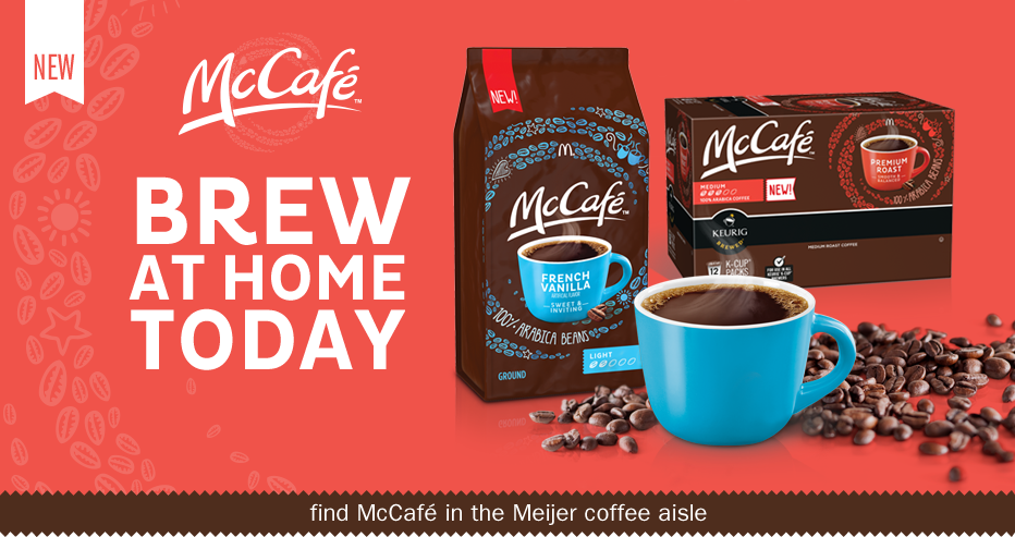 New Mccafe Brew Mcdonalds Coffee At Home Meijer Com