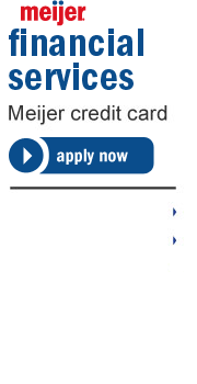 Meijer Financial Services. Meijer credit card.