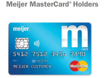 Meijer MasterCard® Holders