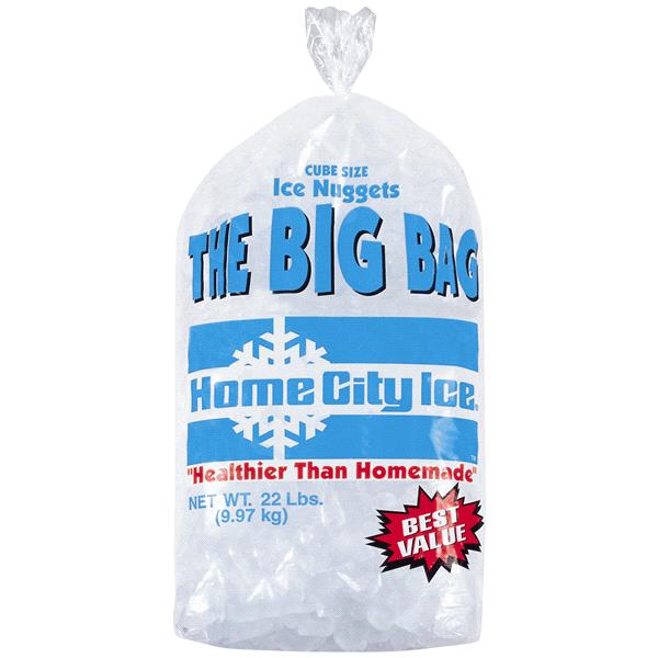 Meijer Large Bagged Ice 20 22 Lbs