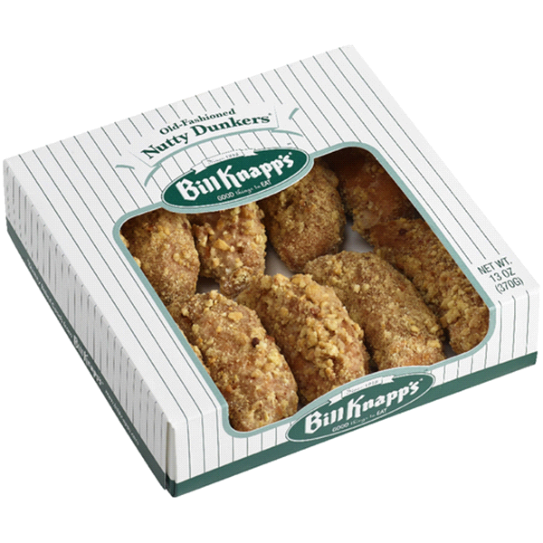 Bill Knapps Nutty Dunkers 13oz.