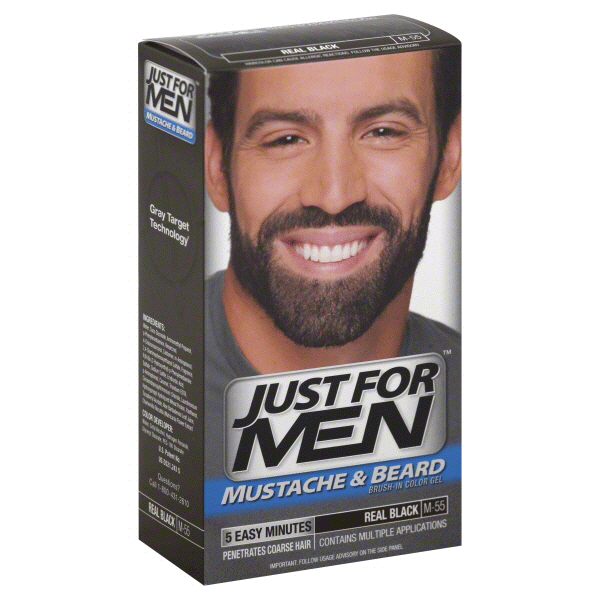 Just For Men Mustache & Beard Real Black M-55 | Meijer.com