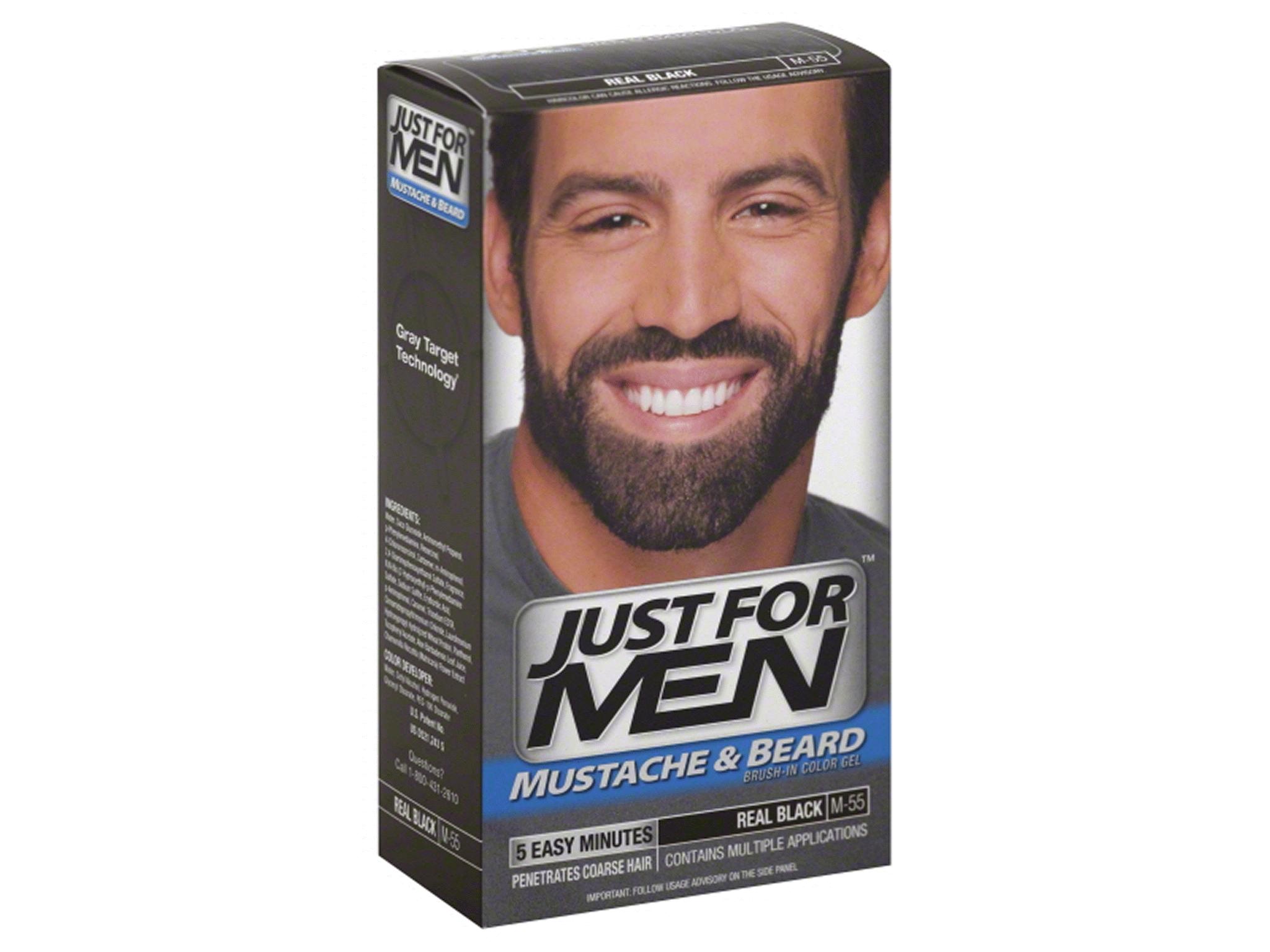 Just For Men Mustache & Beard Real Black M-55 | Meijer.com