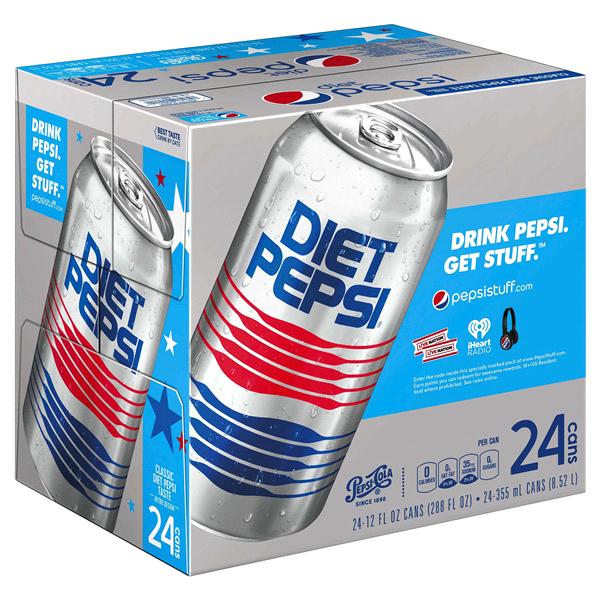 Diet Pepsi 12 Oz 24 Pack Cans Meijer
