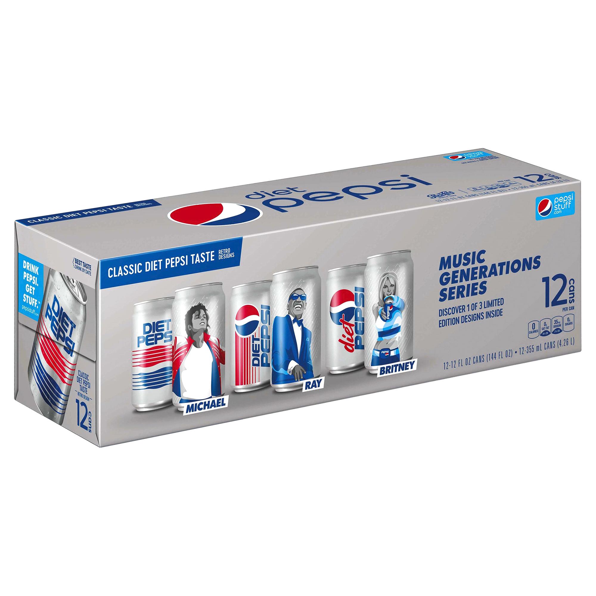 Pepsi Diet 12 oz. 12 pk. cans | Meijer.com