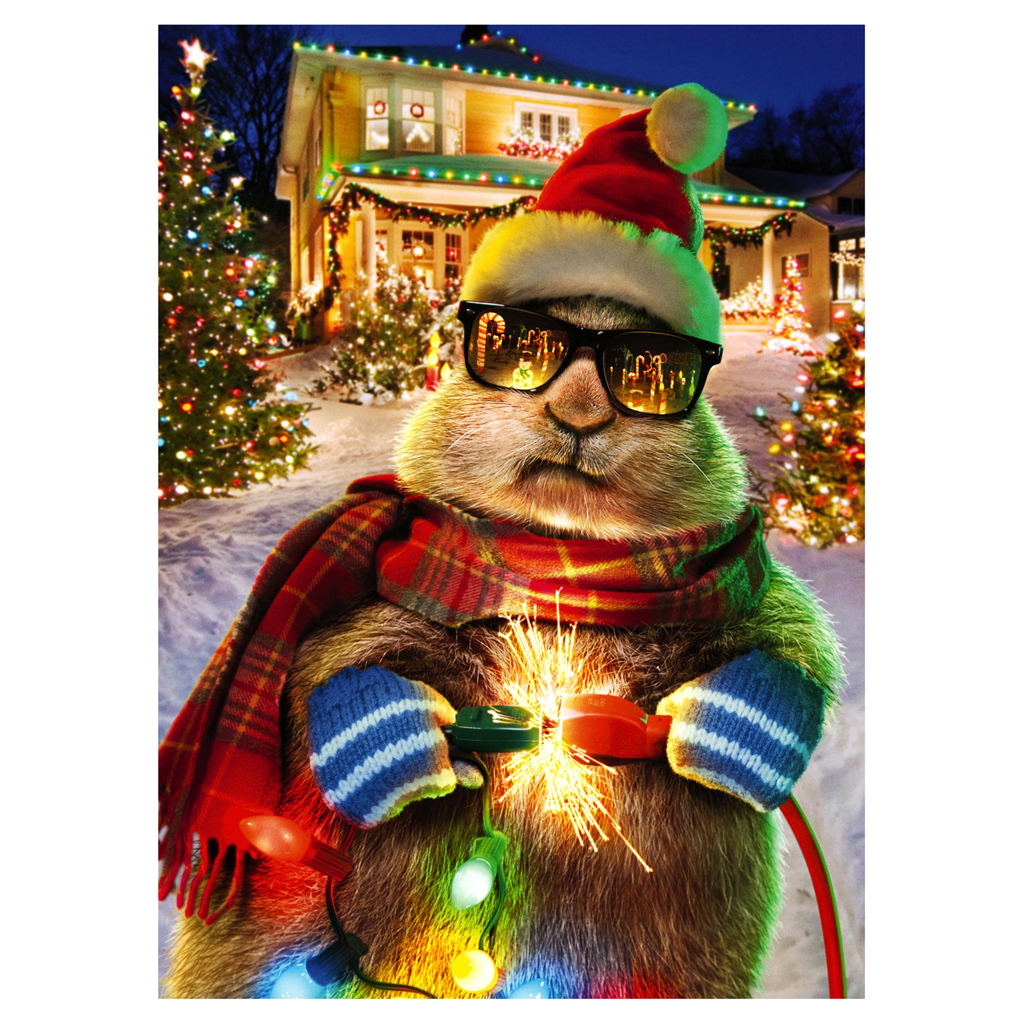Boxed Christmas Cards- Prairie Dog Christmas Lights | Meijer.com