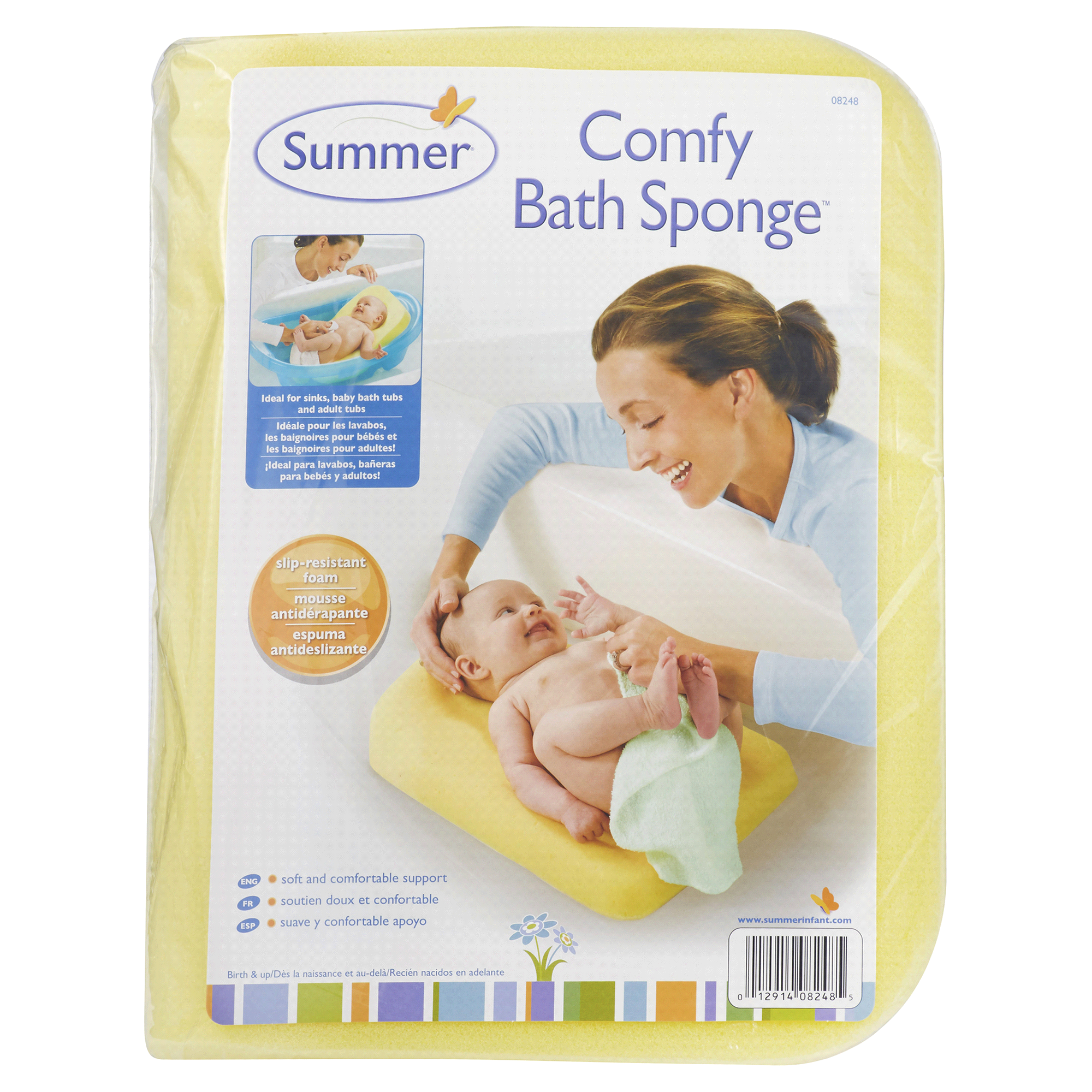 Summer Infant Comfy Bath Sponge | Meijer.com