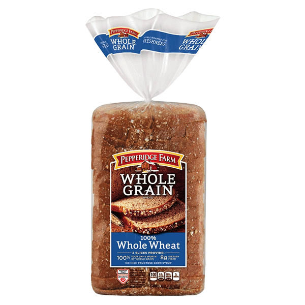 Pepperidge Farm Whole Grain 100% Whole Wheat Bread 24 oz