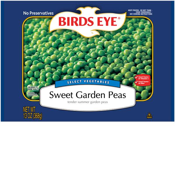 birds eye sweet garden peas 13 oz - Garden Peas