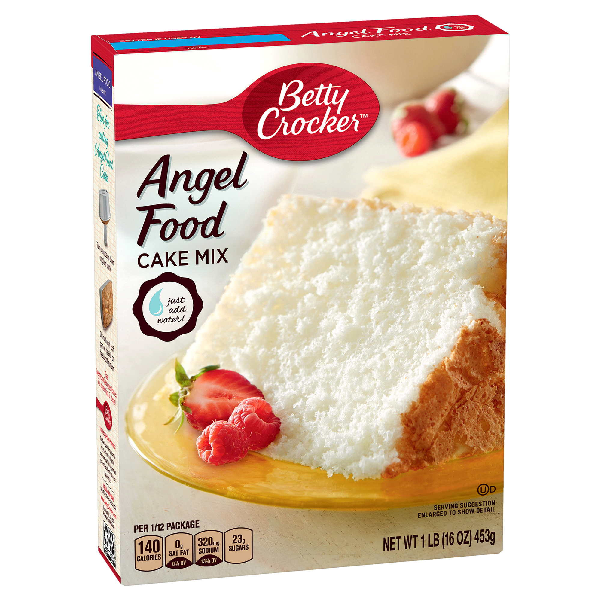 Betty Crocker Angel Food Cake Mix 16 oz Box