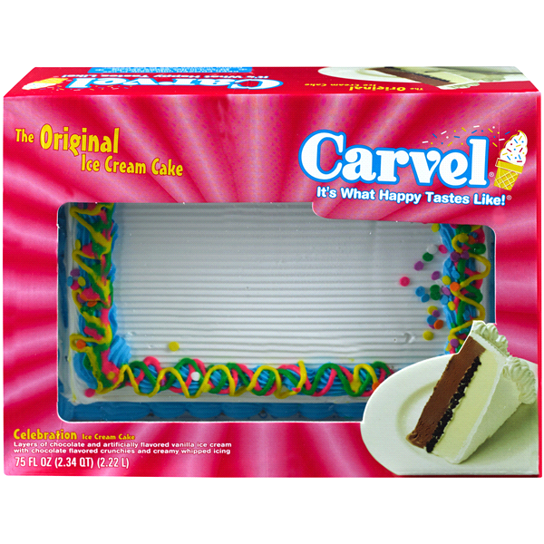 Carvel Sheet Ice Cream Cake Birthday 75 Fl Oz Meijer