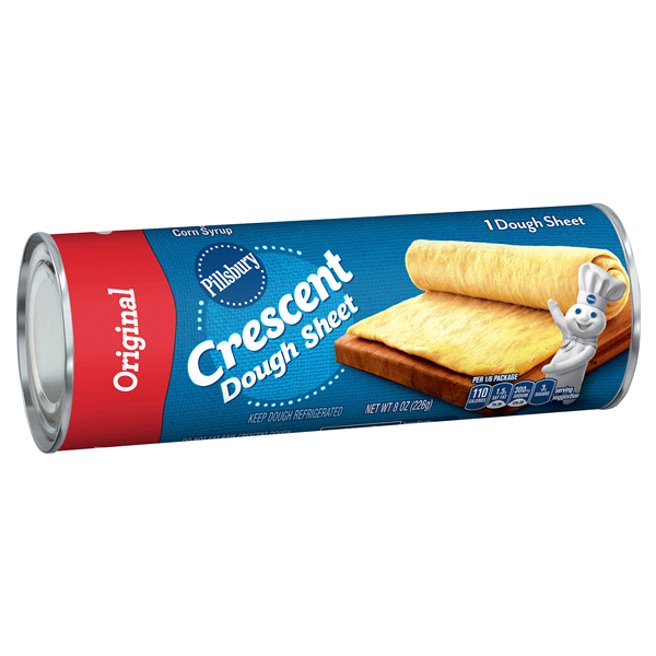pillsbury crescent original dough sheet 1 ct 8 oz can