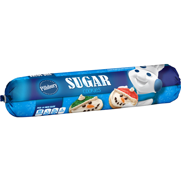 Pillsbury Holiday Sugar Cookie Dough 30 Oz Meijer Com
