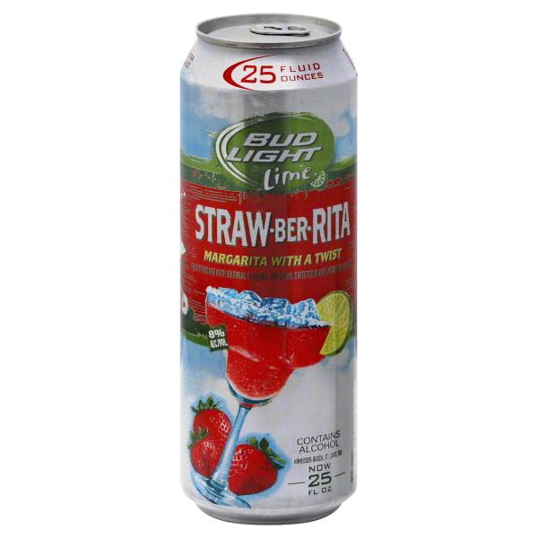 Bud Light Lime Straw Ber Rita 25 Oz