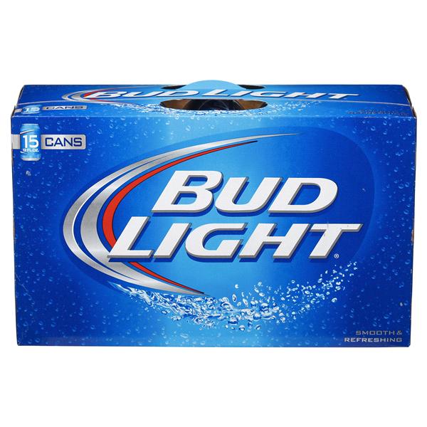 7b302ec4a49 Bud Light Beer 12 oz 15 pk