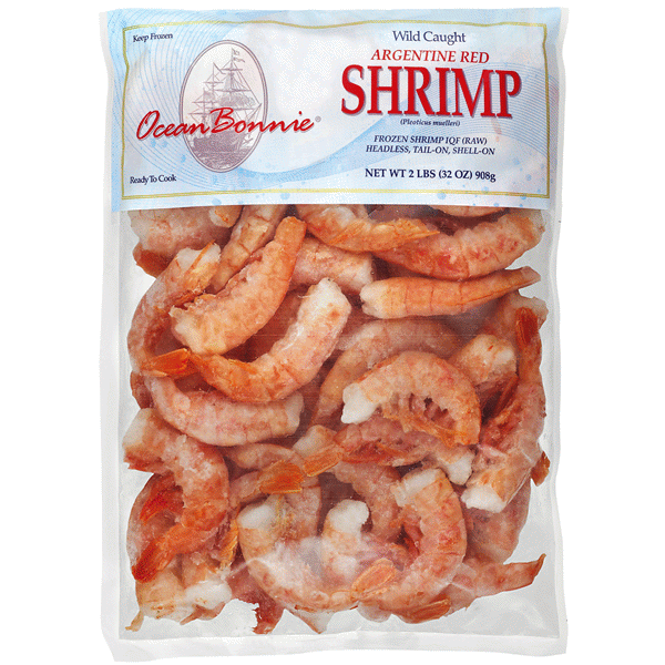 Ocean Bonnie Wild Caught Argentine Red Shrimp 2 Lbs Meijer Com