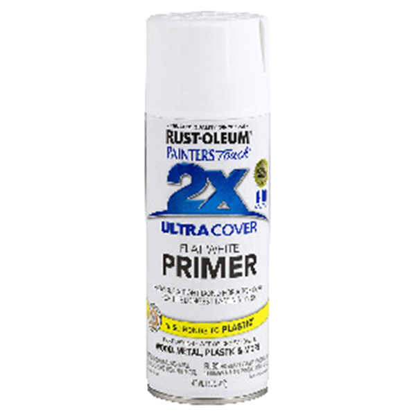 Rust Oleum Painter S Touch 2x Ultra Cover Spray Paint 249058 12oz Flat White