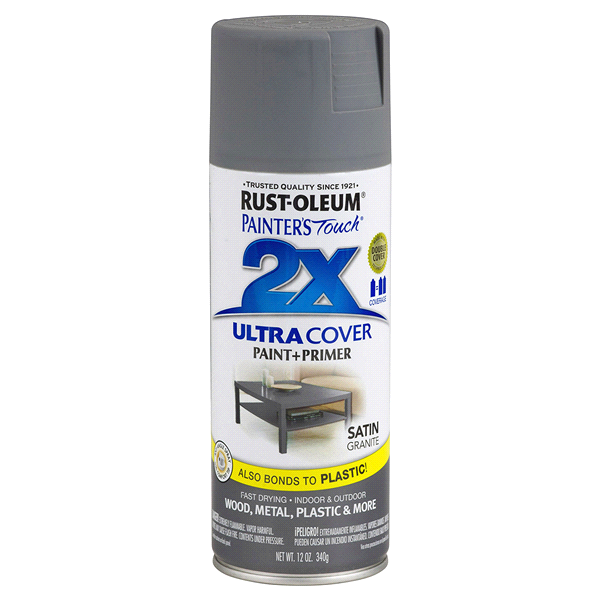 Rust Oleum Painters Touch 2x Ultra Cover Spray Paint 249078 12oz