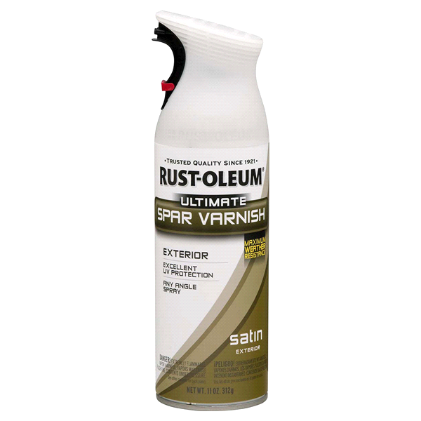 Rust Oleum Ultimate Spar Varnish Spray 260348 11 Ounce Satin