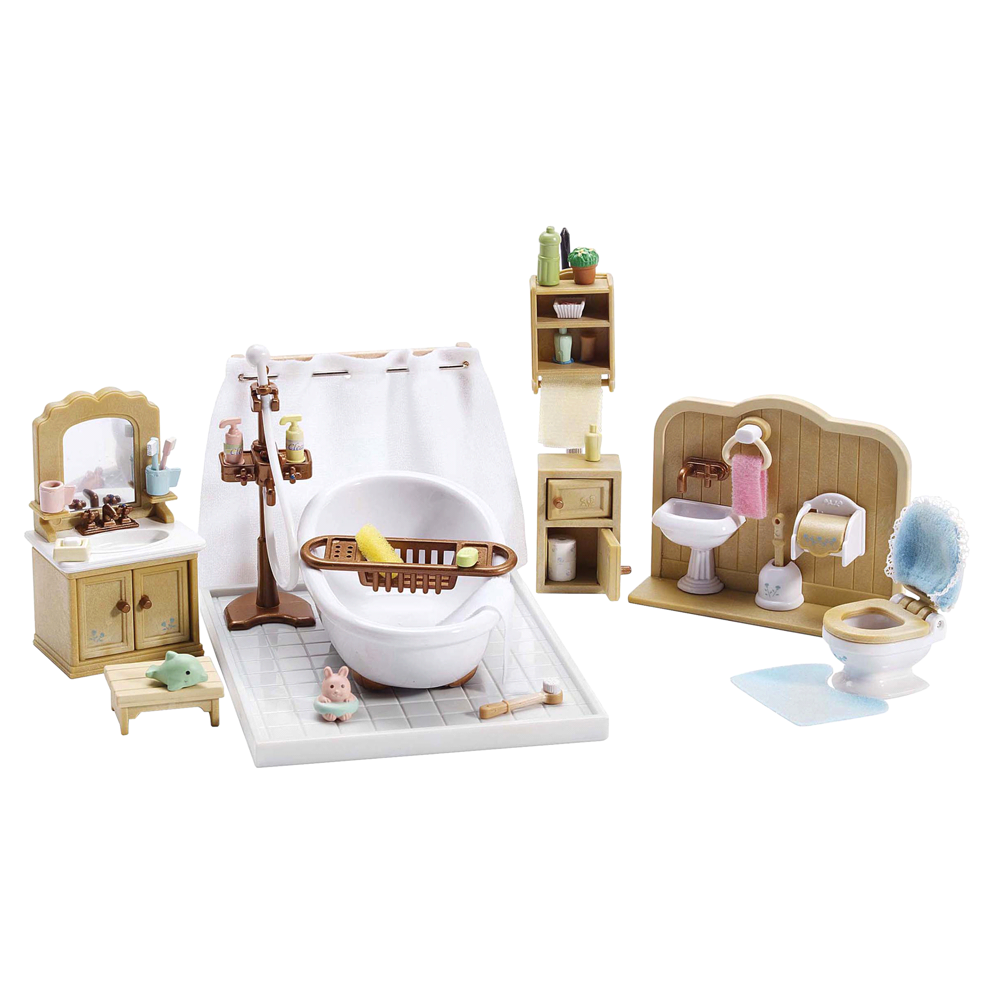 Calico Critters Deluxe Bathroom Set | Meijer.com