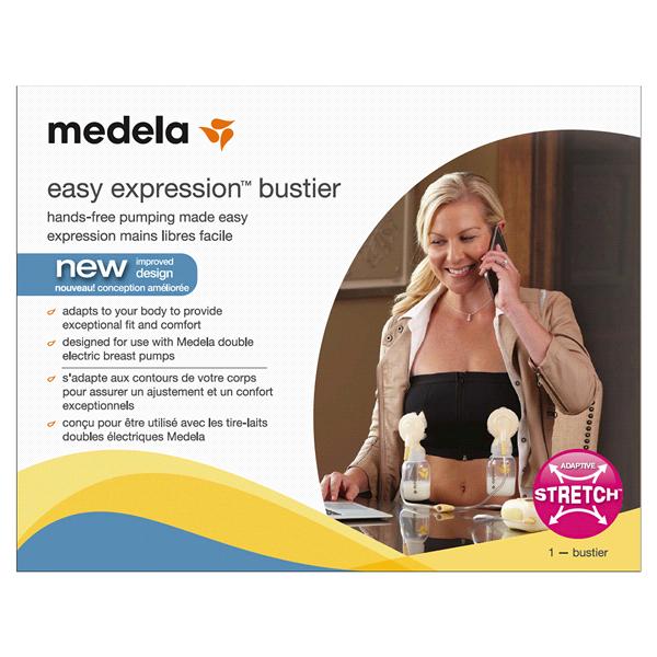 693a6efbe5f31 Medela Easy Expression Bustier Black Large