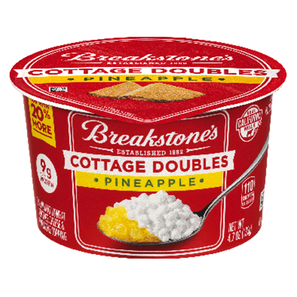 Breakstones Cottage Doubles Pineapple Cheese 47 Oz Cup