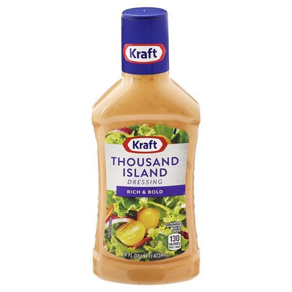 Kraft Thousand Island Dressing 24 Fl Oz Bottle Meijercom