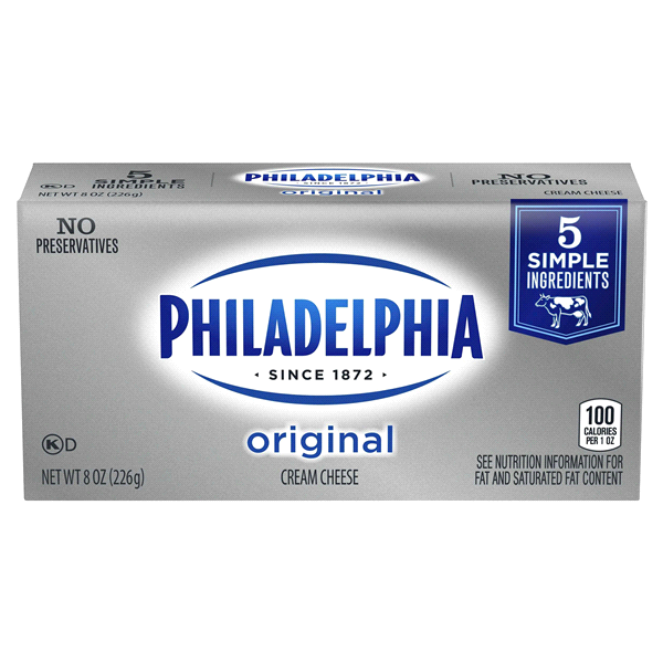 Philadelphia Original Cream Cheese Brick 8 Oz Box Meijer Com