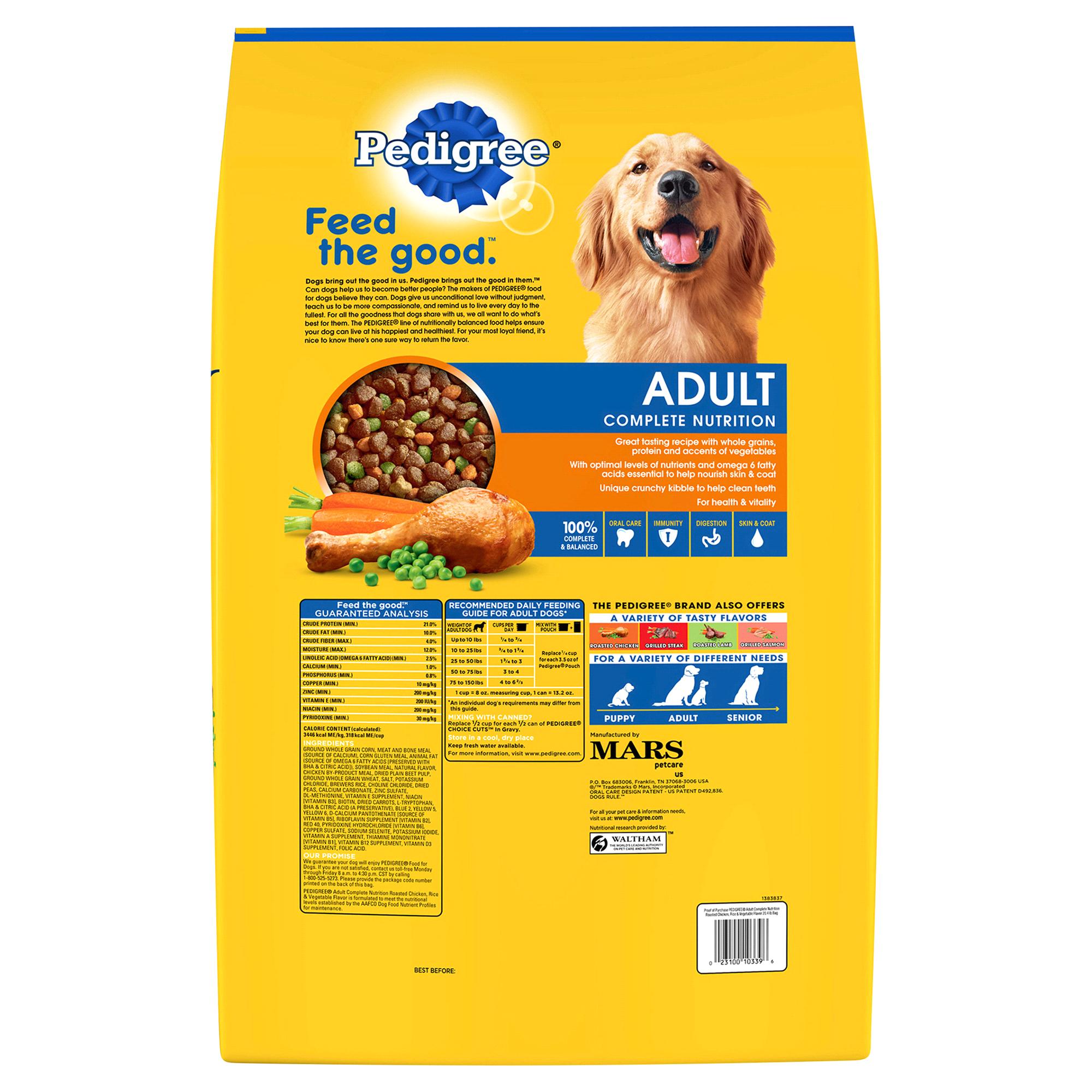 Is Pedigree Dog Food Bad For Your Dog