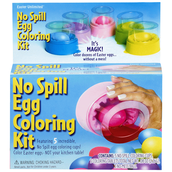 No Spill Egg Coloring Kit | Meijer.com
