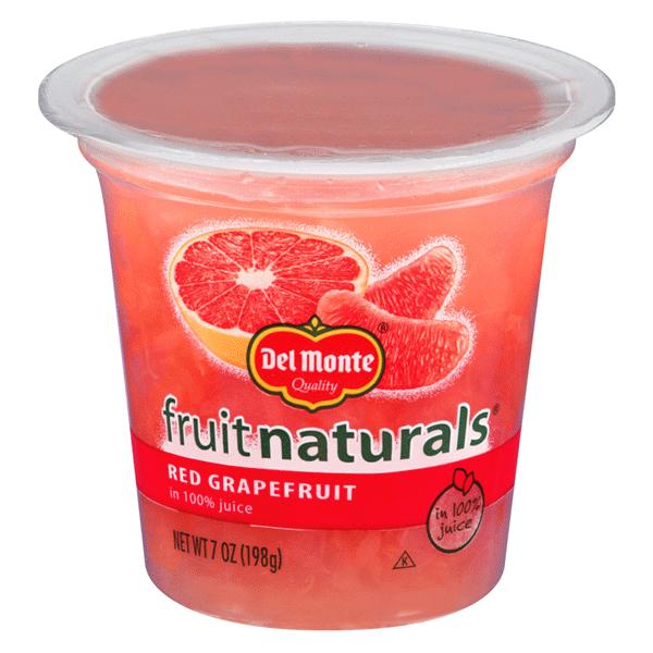 d9df0733c9 Del Monte Fruit Naturals® Cup Red Grapefruit 7 oz