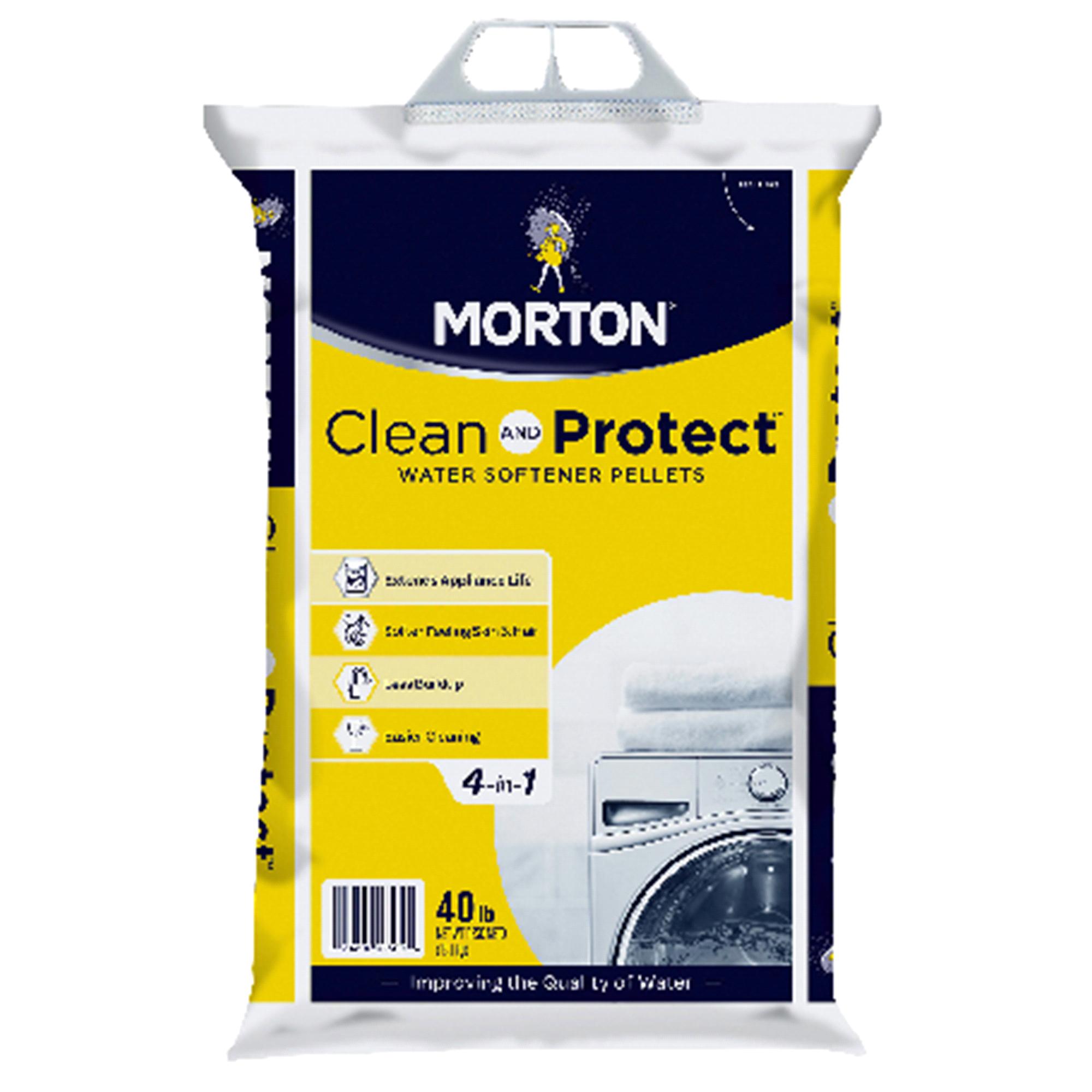 Automotive Battery Fuse Box Melting Morton System Saver Ii Water Softener Salt Pellets 40 Lbs