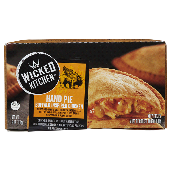 wicked kitchen buffalo chicken hand pie 6 oz - Wicked Kitchen