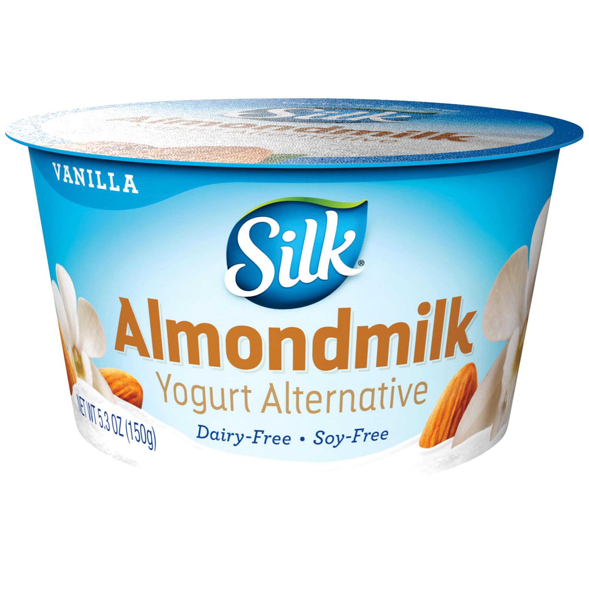 Silk® Vanilla Almond Dairy-Free Yogurt Alternative 5.3 oz | Meijer.com