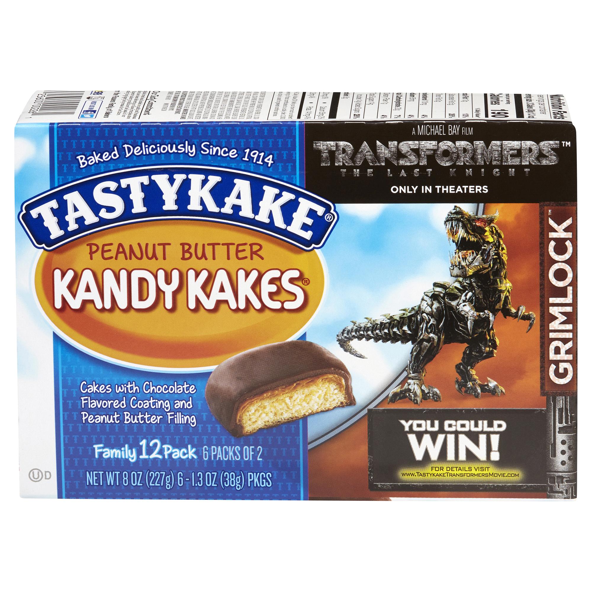 Tastykake Chocolate Peanut Butter Kandy Kakes - Pack of 2