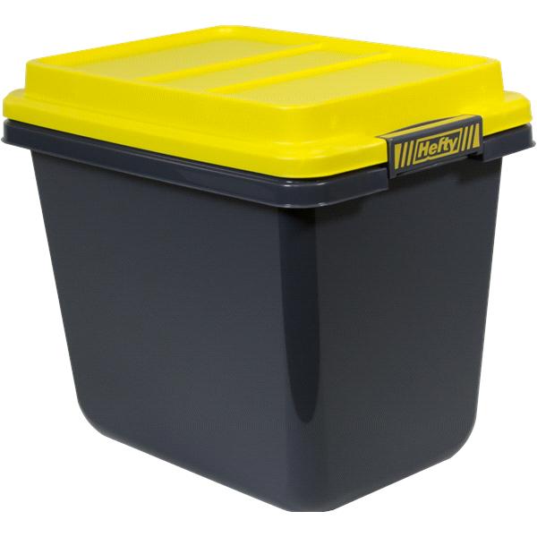 Hefty HI RISE PRO Storage Tote Collection 32 Quart Medium Storage