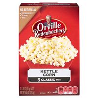 Orville Redenbachers Microwave Popcorn Kettle Corn 3pk