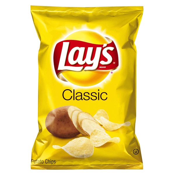 Lays Classic Potato Chips. 2.75 oz | Meijer.com