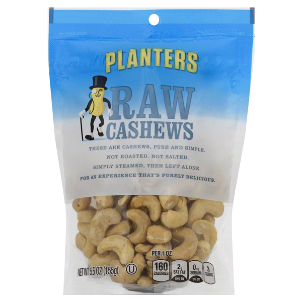 Planters NUT-rition Raw Cashews 5.5 oz Pouch | Meijer.com on kettle sea salt and malt vinegar, kettle tilt drains, kettle steaming rack for food with,