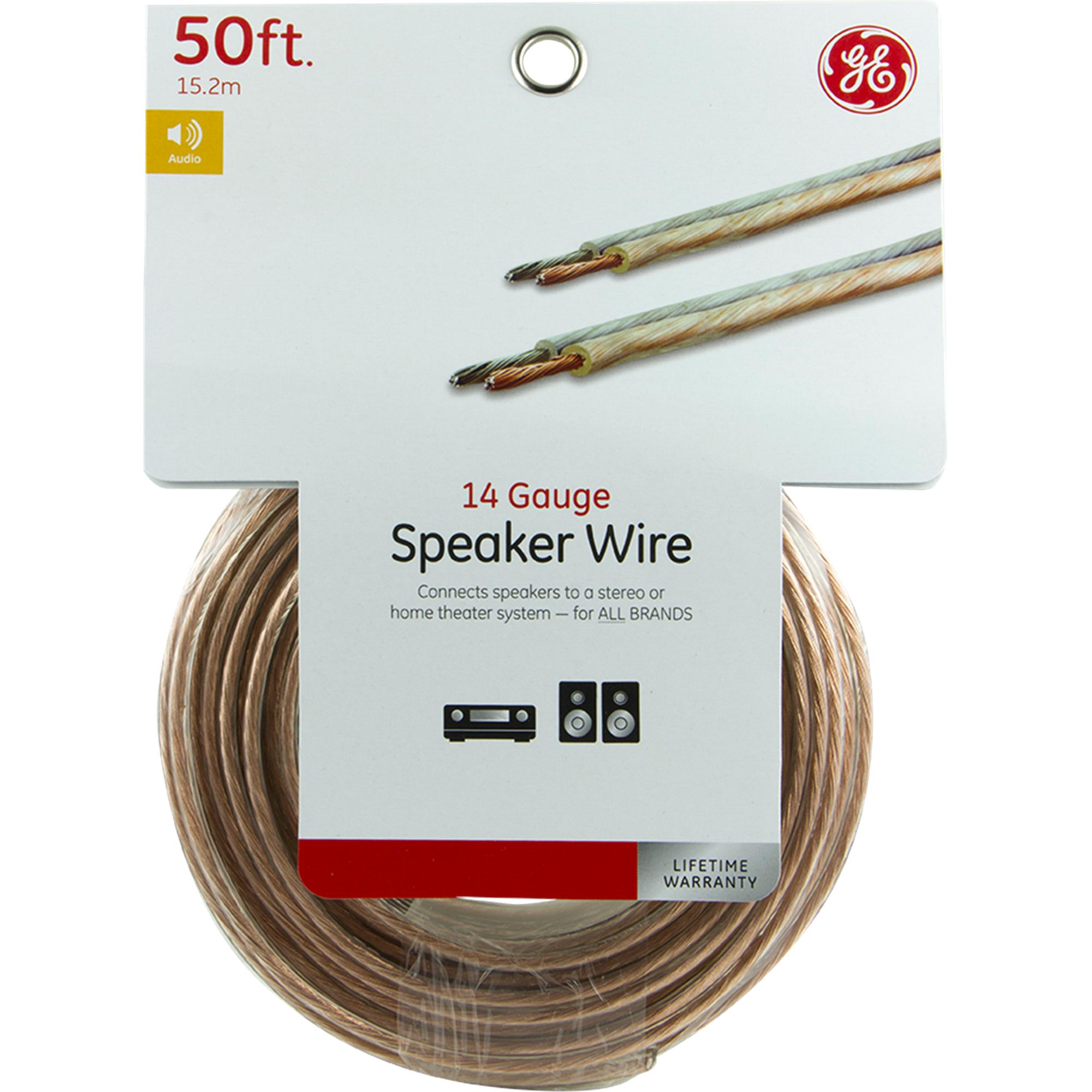 GE Speaker Wire 50-Foot 14 Gauge 34463 | Meijer.com