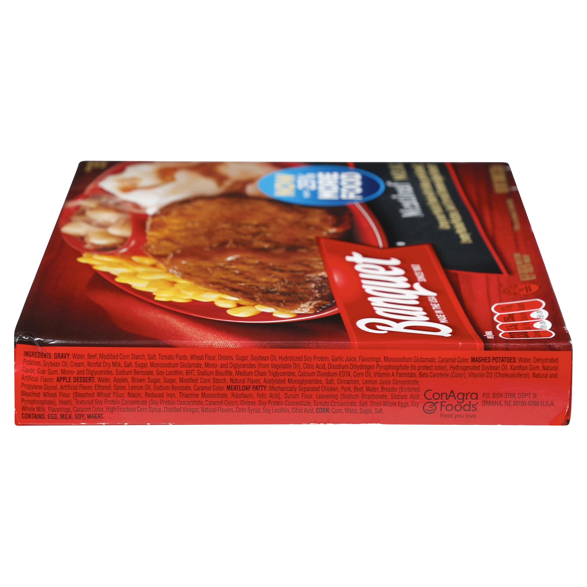 Banquet Meatloaf Meal 11 88 Oz Meijer Com