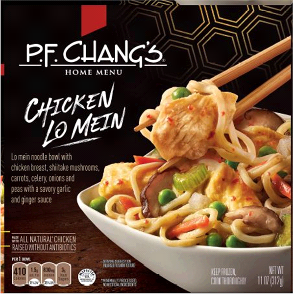 pf chang chicken lo mein noodle bowl 11 oz meijer com
