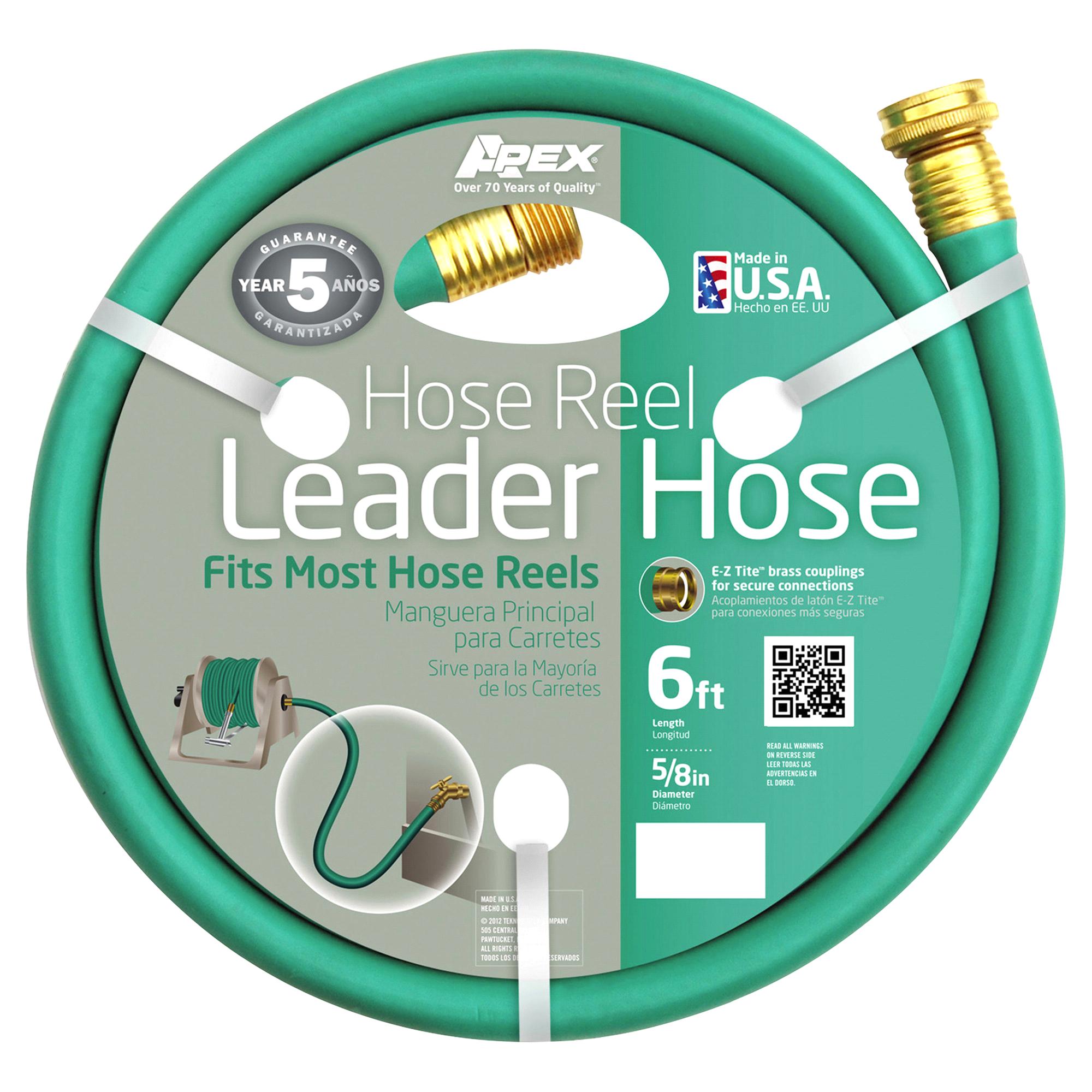 apex hose reel leader hose 5 8 x 6 meijer com