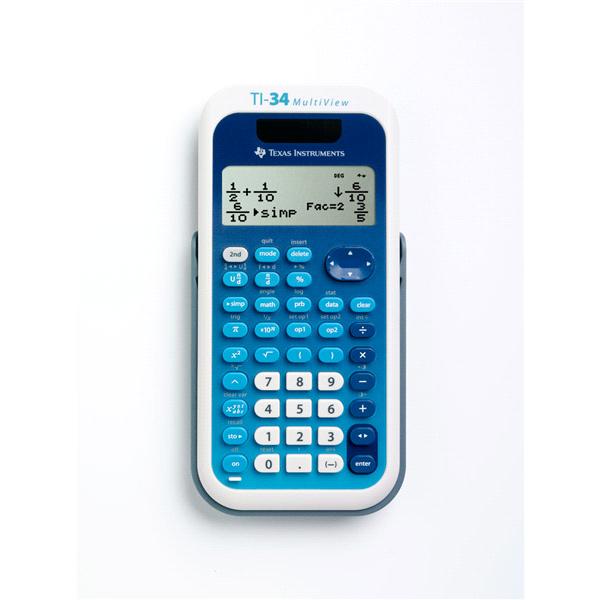 Texas Instruments TI 34 MultiView™ Scientific Calculator   Meijer.com