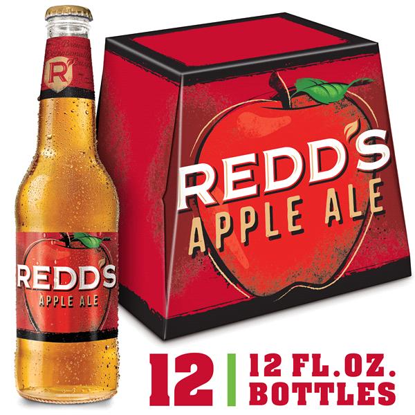 05229c02e7b Redds Apple Ale Beer 12 Pack 12 fl. oz. Bottles 5% ABV
