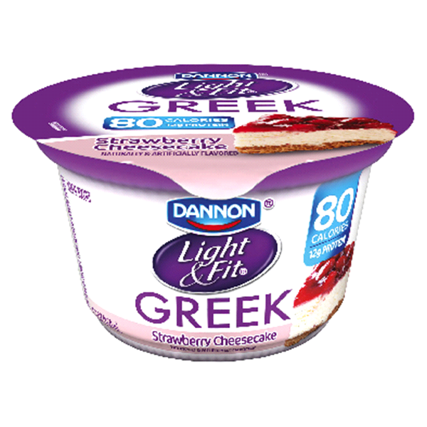 Elegant Dannon Light U0026 Fit Greek Strawberry Cheesecake 5.3 Oz Photo