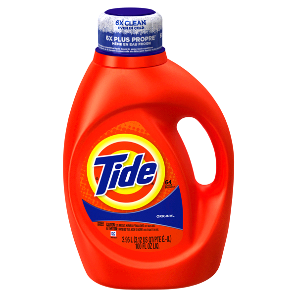 Tide Original Scent Liquid Laundry Detergent 100 Oz 64 Loads